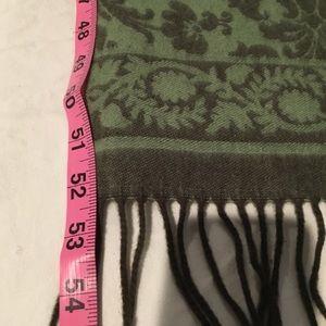 Accessories - Cashmere Scarf Scottish Made SOFT Green